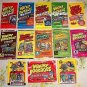 WACKY PACKAGES~PICK A PACK~ANS1,2,3,4,5 & 1986,91 & OLD SCHOOL SERIES + MORE