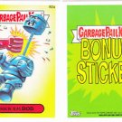 "2015 GARBAGE PAIL KIDS SERIES 1  ""ROCK'EM ROD"" B2a BONUS STICKER CARD"
