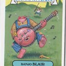 "2012 GARBAGE PAIL KIDS BRAND NEW SERIES 1 (BNS1) BONUS CARD  ""BANJO BLAIR"" B6a"