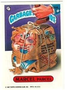 "1987 GARBAGE PAIL KIDS ORIGINAL 8TH SERIES ""MARCEL PARCEL"" #325a  NM"