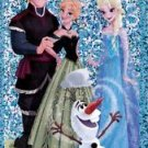 "PANINI DISNEY FROZEN STICKER ""ELSA & FRIENDS"" #165 SHINY FOIL!  HARD TO FIND!"