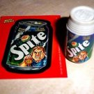 "WACKY PACKAGES ERASER SERIES 1 ""SPITE"" ERASER & MATCHING STICKER #19"