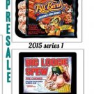 2015 WACKY PACKAGES SERIES 1 COMPLETE 110 CARD SET + WRAPPER~