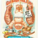 "1986 GARBAGE PAIL KIDS ORIGINAL 5th SERIES ""HAMBURGER PATTIE"" #192b  NM"
