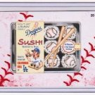 "2016 WACKY PACKAGES BASEBALL SERIES 1 LACE BORDER ""LA DODGERS SUSHI"" #20"