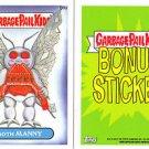 "2014 GARBAGE PAIL KIDS 1ST SERIES BONUS STICKER  ""MOTH MANNY"" B9a NM"