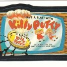 "TOPPS WACKY PACKAGES 1986 SERIES ALBUM STICKER ""KILLY PUTTY"" #68 ONLY 99 CENTS"