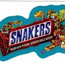 "2013 WACKY PACKAGES ALL NEW SERIES 10 {ANS10} BLUE BORDER ""SNAKERS"" #55"