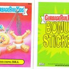 "2015 GARBAGE PAIL KIDS SERIES 1  ""WRECKING BiLL"" B9a BONUS STICKER"