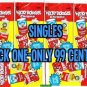 """2014 WACKY PACKAGES 1ST SERIES CHROME """"PICK-A-SINGLE"""" 99 CENTS EACH! #'s 61-110"""