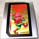 "2014 WACKY PACKAGES CHROME SERIES 1 ""PIXIE CUPS"" #16 CUTTING ROOM FLOOR INSERT"