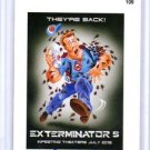 "2015 WACKY PACKAGES SERIES1 ""EXTERMINATOR 5"" ARTIST AUTOGRAPH by JOE SIMKO 11/15"