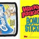 2005 WACKY PACKAGES ALL NEW SERIES 2 (ANS2) **CHAIRMAN** BONUS STICKER  B5