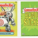 2013 GARBAGE PAIL KIDS BRAND NEW SERIES3 (BNS3) BONUS STICKER-PINNED WYNN- B24b