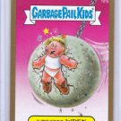 "2014 GARBAGE PAIL KIDS 2ND SERIES GOLD BORDER ""WRECKED WREN"" #101b STICKER CARD"