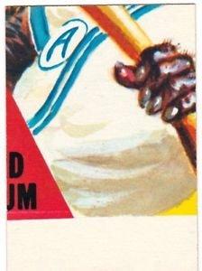 "1973 WACKY PACKAGES ORIGINAL 3rd SERIES ""BEANBALL"" PUZZLE PIECE W/CHECKLIST BM"
