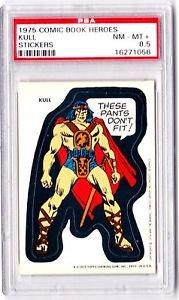1975 MARVEL COMIC BOOK SUPER HEROES **KULL** PSA GRADED 8.5 NM-MT+