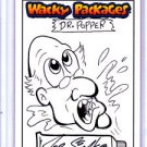 "2015 WACKY PACKAGES SERIES 1 ""DR.POPPER"" SKETCH by JOE SIMKO  NICE SKETCH"