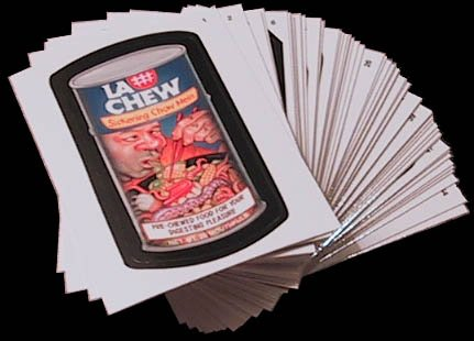 """2010 WACKY PACKAGES ALL NEW SERIES 7 (ANS7) """"FLASH FOIL"""" (PICK ONE) STICKER CARD"""