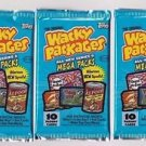 "2007 WACKY PACKAGES ALL NEW SERIES 6 {ANS6) LOT OF ""THREE NEW PACKS"" NICE PRICE"