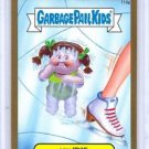 "2014 GARBAGE PAIL KIDS 2ND SERIES GOLD BORDER ""ICY IRIS"" #114a STICKER CARD"