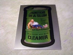 "2014 WACKY PACKAGES CHROME SERIES 1 ""SLUM CLEANER"" #2 LOST WACKY CARD"