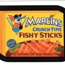 "2016 WACKY PACKAGES BASEBALL SERIES 1 ""MARLINS FISHY STICKS"" #27 STICKER CARD"