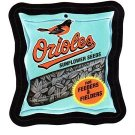 "2016 WACKY PACKAGES BASEBALL SERIES 1 ""ORIOLES SUNFLOWER SEEDS"" #34 STICKER CARD"
