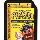 "2016 WACKY PACKAGES BASEBALL SERIES 1 ""PIRATES EYE-PATCH"" #39 STICKER CARD"