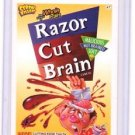 "2012 CEREAL KILLERS 1ST SERIES ""RAZOR CUT BRAIN"" #47 STICKER-ONLY 99 CENTS"