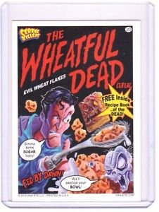 """2012 CEREAL KILLERS 1ST SERIES """"THE WHEATFUL DEAD"""" #20 STICKER-ONLY 99 CENTS"""