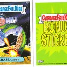 "2013 GARBAGE PAIL KIDS BRAND NEW SERIES3 (BNS3) BONUS STICKER ""CHASE CADET"" B20b"