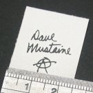 Dave Mustaine Signature Decal Waterslide For Guitar
