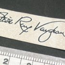 SRV Signature Decal Waterslide For Guitar