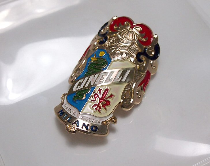 Nos Cinelli Head Badge Bicycle