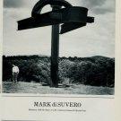 Mark di Suvero Mahatma 1986 Art Ad Advertisement