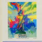 LeRoy Neiman Lady Liberty Advert 1986 Art Ad Advertisement