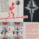 1951 Vibrax Company EMO S.A. Vintage 1951 Swiss Ad Suisse Advert Horlogerie Horology