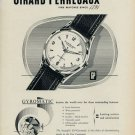 1953 Girard Perregaux Watch Company Gyromatic 1953 Swiss Ad Switzerland Suisse Advert
