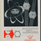 1962 Tradition Watch Company Switzerland Reusser S.A. 1962 Swiss Ad Suisse Advert