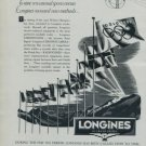 Vintage Longines Watch Company Oslo Winter Olympics 1951 Swiss Ad 1952 Suisse Advert