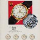 Buren Watch Company Rotowind 1953 Swiss Ad Switzerland Suisse Advert