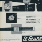 1962 Le Phare Watch Company Switzerland Vintage 1962 Swiss Ad Suisse Horlogerie Advert Horology