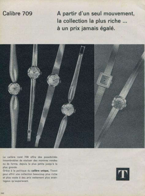 1962 Tissot Watch Company Switzerland 1962 Swiss Ad Suisse Advert Horlogerie Horology