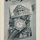 1953 Rotary Watch Company La Chaux-deFonds Switzerland 1953 Swiss Ad Suisse Advert