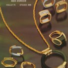 1976 Jewelers Bosshard & Co. AG Zurich Vintage 1976 Swiss Ad Suisse Advert