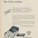 1953 Tissot Watch Company Centenary Advert Vintage 1953 Swiss Ad  Suisse Advert Le Locle Switzerland