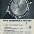 1962 Glycine Watch Company Switzerland Glycine Vacuum Advert 1962 Swiss Ad Suisse Advert