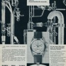 1964 Universal Geneve Watch Company Switzerland Vintage 1964 Swiss Ad Suisse Advert Horlogerie