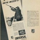 1953 Universal Geneve Watch Company Vintage 1953 Swiss Ad Geneva Switzerland Suisse Advert